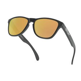 Oakley Frogskins XS Gafas de Sol Jóvenes, negro/Dorado